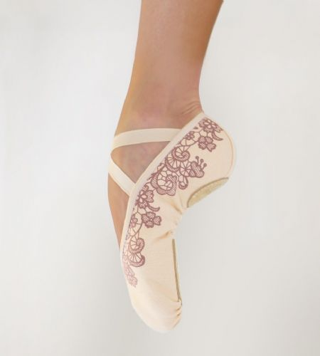 Micro lace ballet slippers Grishko.